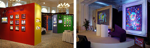 An exhibition and conference in a format to complement the venue