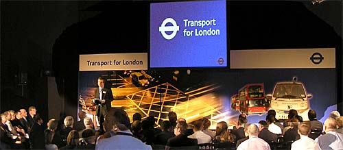Transport for London Open Days, Battersea Park Arena